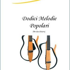 12 MELODIE PER DUE CHITARRE edizioni_eufonia