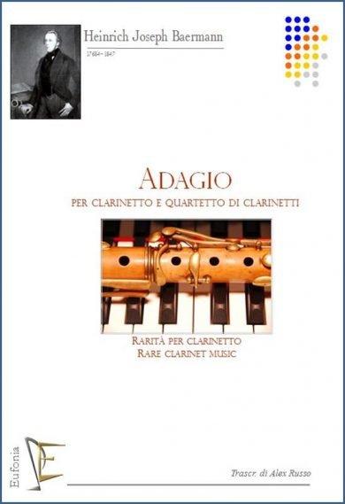 ADAGIO PER CLARINETTO E QUARTETTO DI CLARINETTI edizioni_eufonia