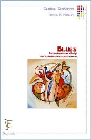 """BLUES DA """"UN AMERICANO A PARIGI"""" edizioni_eufonia"""
