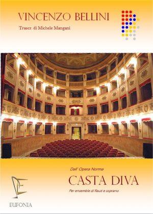 CASTA DIVA PER CORO DI FLAUTI edizioni_eufonia