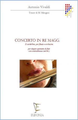 CONCERTO IN RE Magg. IL CARDELLINO edizioni_eufonia