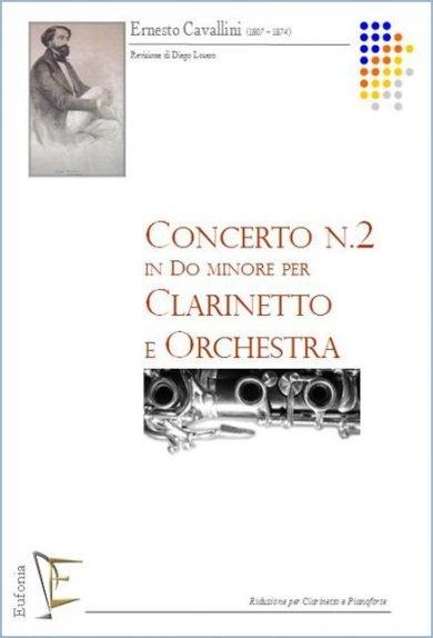 CONCERTO NR. 2  IN DO MIN. PER CLARINETTO E ORCHESTRA edizioni_eufonia