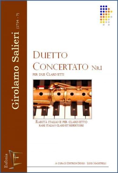 DUETTO CONCERTATO NR.1 PER DUE CLARINETTI edizioni_eufonia