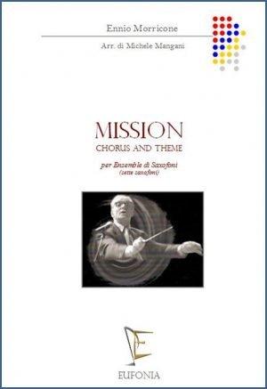 """MISSION """"CHORUS AND THEME"""" - PER SETTE SAX edizioni_eufonia"""
