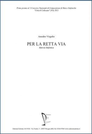 PER LA RETTA VIA edizioni_eufonia