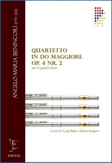 QUARTETTO IN DO MAGG. OP 4 NR. 2 PER FLAUTI edizioni_eufonia