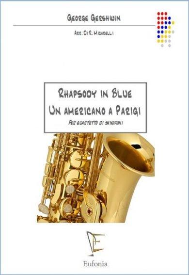 RHAPSODIA IN BLUE - UN AMERICANO A PARIGI edizioni_eufonia