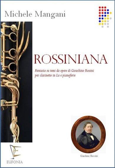 ROSSINIANA PER CLARINETTO IN LA E PIANOFORTE edizioni_eufonia