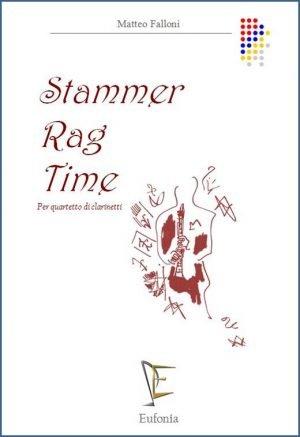 STAMMER RAG TIME PER QUARTETTO DI CLARINETTI edizioni_eufonia
