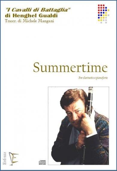 SUMMERTIME - PER CLARINETTO E PIANOFORTE edizioni_eufonia