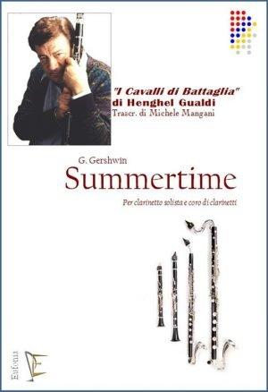 SUMMERTIME PER CORO DI CLARINETTI E SOLISTA edizioni_eufonia