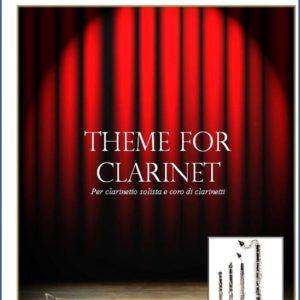 THEME FOR CLARINET PER CORO DI CLARINETTI edizioni_eufonia