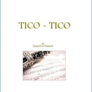 TICO TICO PER QUARTETTO DI CLARINETTI edizioni_eufonia