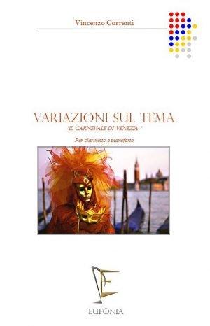 VARIAZIONI SUL TEMA -  CARNEVALE DI VENEZIA edizioni_eufonia
